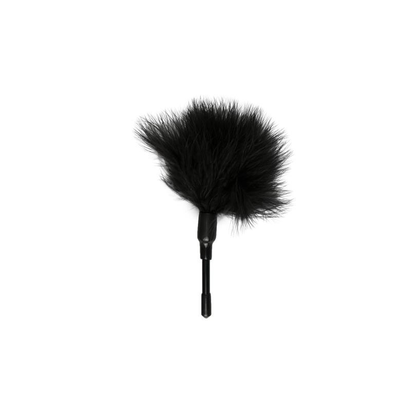 Plumas Estimuladoras  -Negras de EASYTOYS #satisfactoys