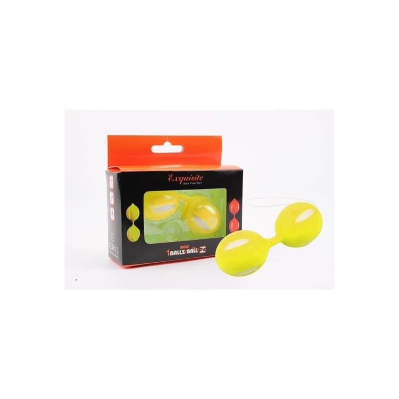 Bolas Ben Wa 10.3 cm Yellow