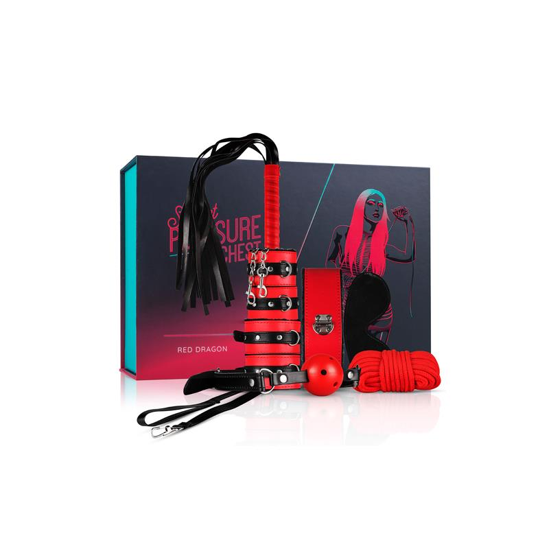 Set Secret Pleasure - Red Dragon de LOVEBOXXX #satisfactoys