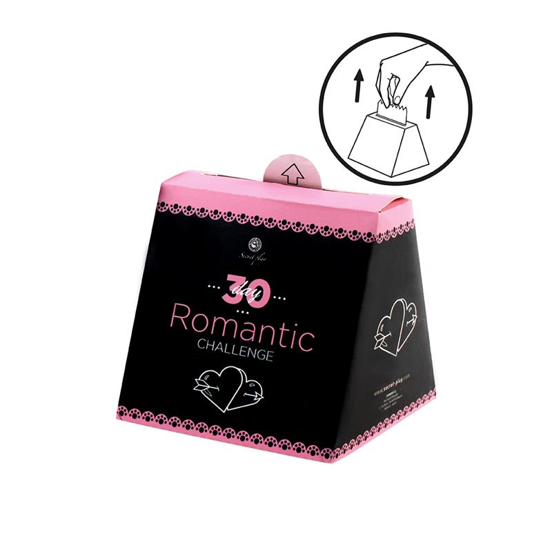 Juego Romántico 30 Días (ES/EN) de SECRET PLAY #satisfactoys