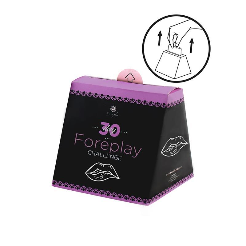 Juego 30 Días Juegos Sexuales (FR/PT) de SECRET PLAY #satisfactoys
