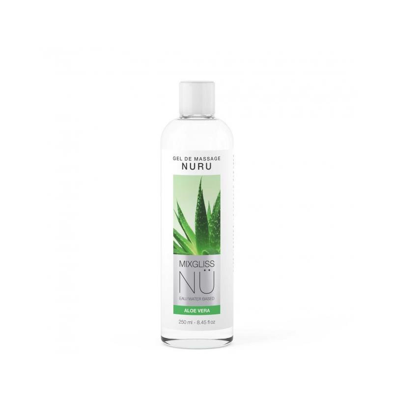 Lubricante Nu Aloe Vera 250 ml de MIXGLISS #satisfactoys