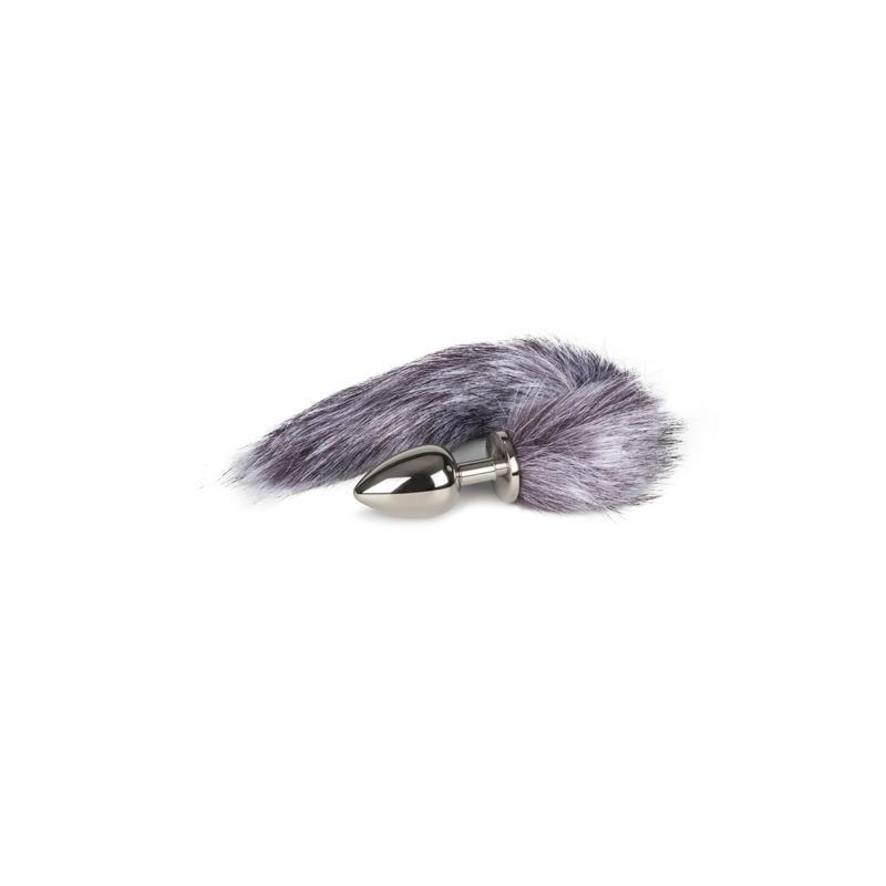 Fox Tail Plug No. 4 - Silver