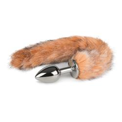 EasyToys Fox Tail Plug No. 7 - Silver