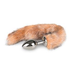 EasyToys Fox Tail Plug No. 3 - Silver