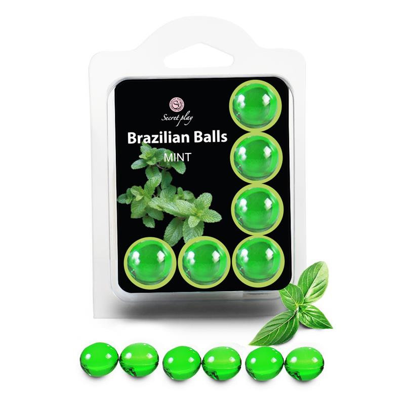 Brazilian Balls Set 6  Menta de SECRET PLAY #satisfactoys