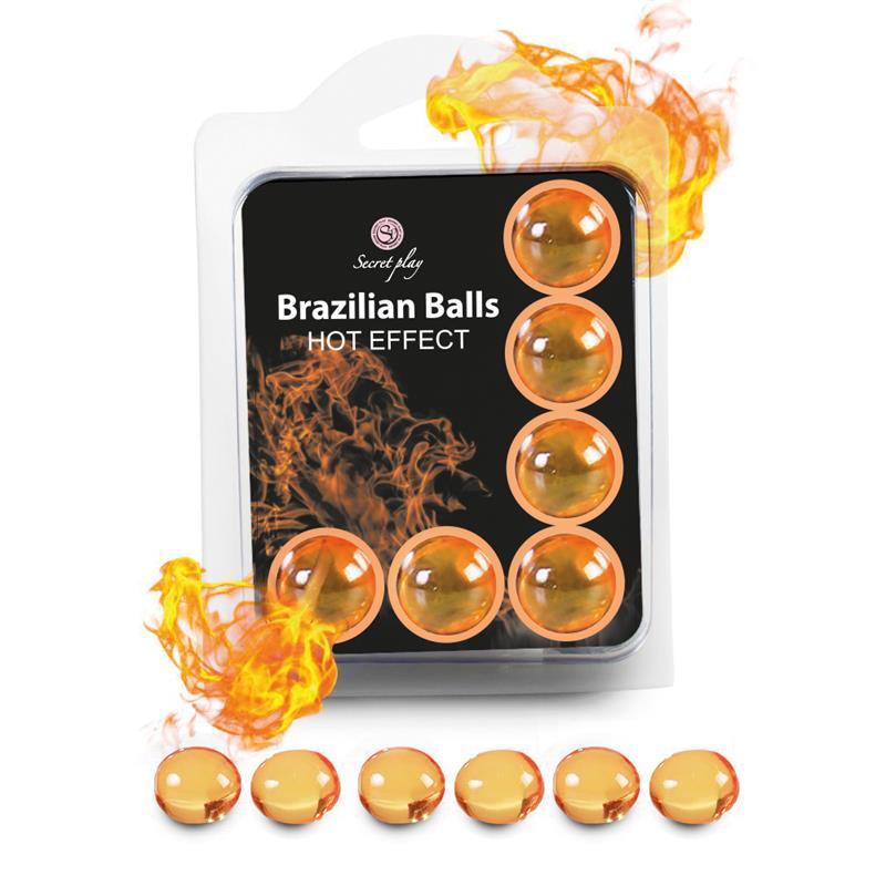 Brazilian Balls  Set 6  Efecto Calor de SECRET PLAY #satisfactoys