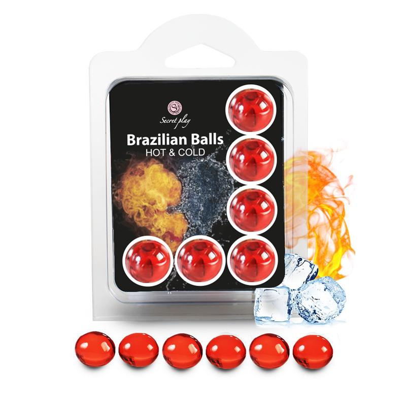 Brazilian Balls Set 6  Efecto Calor & Frío de SECRET PLAY #satisfactoys
