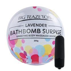 Bath Bomb Surprise Lavender & Vibrating Body Massa