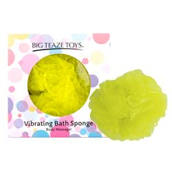 Bath Spongee Vibrating Yellow
