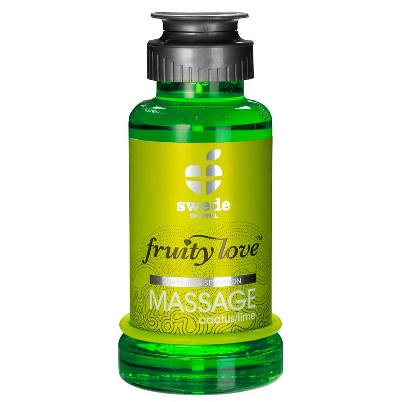 Fruity Love Massage Oil Cactus and Lima Aroma 100 ml