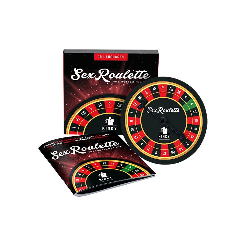 Sex Roulette Kinky de TEASE & PLEASE #satisfactoys