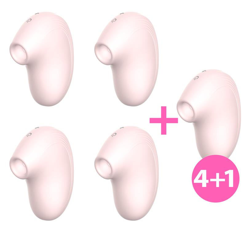 Pack 4+1 Cult Succionador Clitoris Ondas Energéticas New Generation Natural de W #satisfactoys
