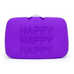 HAPPY Storage Zip Bag Large Pink