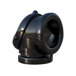 Fantasy C-Ringz Rock Hard Cock Pipe-Black