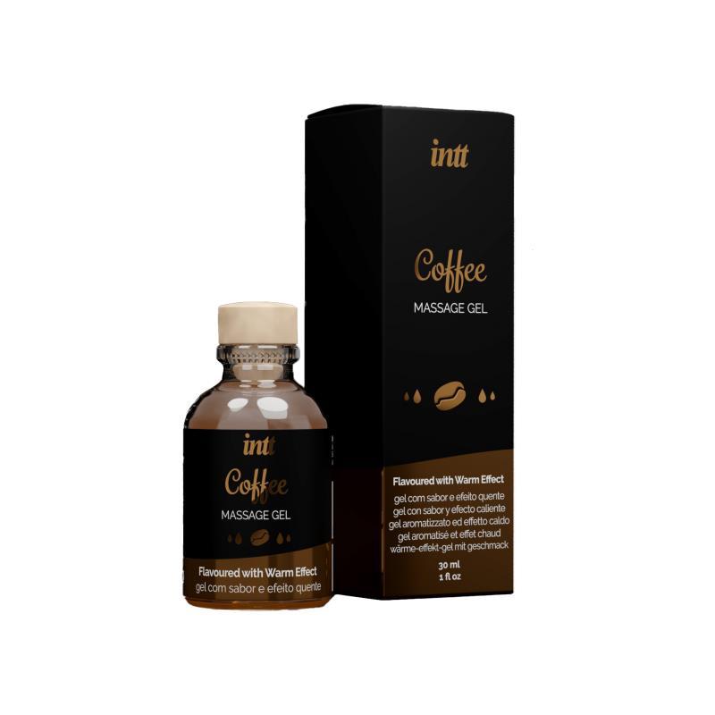 Zulíbání Masážní Káva gel 30 ml.
