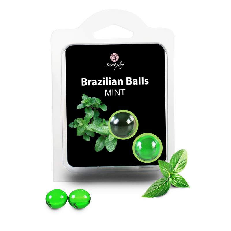 Secret Play Set 2 Brazilian Balls Mint