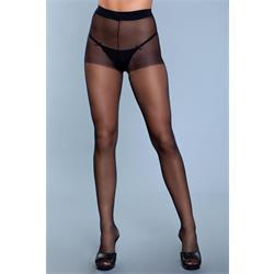 Skin To Skin High-Waist Pantyhose - Black