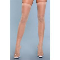 Best Behavior Thigh Highs - Beige