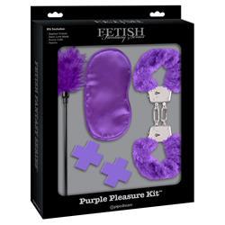 Fetish Fantasy Limited Edition  Purple Passion Kit