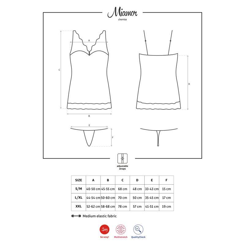 Miamor košilka White Velikost: S / M