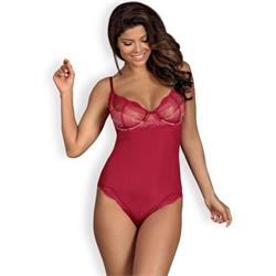 OB Rosalyne teddy red-S/M