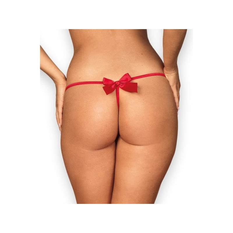 Giftella Thong Red Velikost: S / M