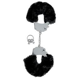 Fetish Fantasy Limited Edition  Furry Cuffs-Black