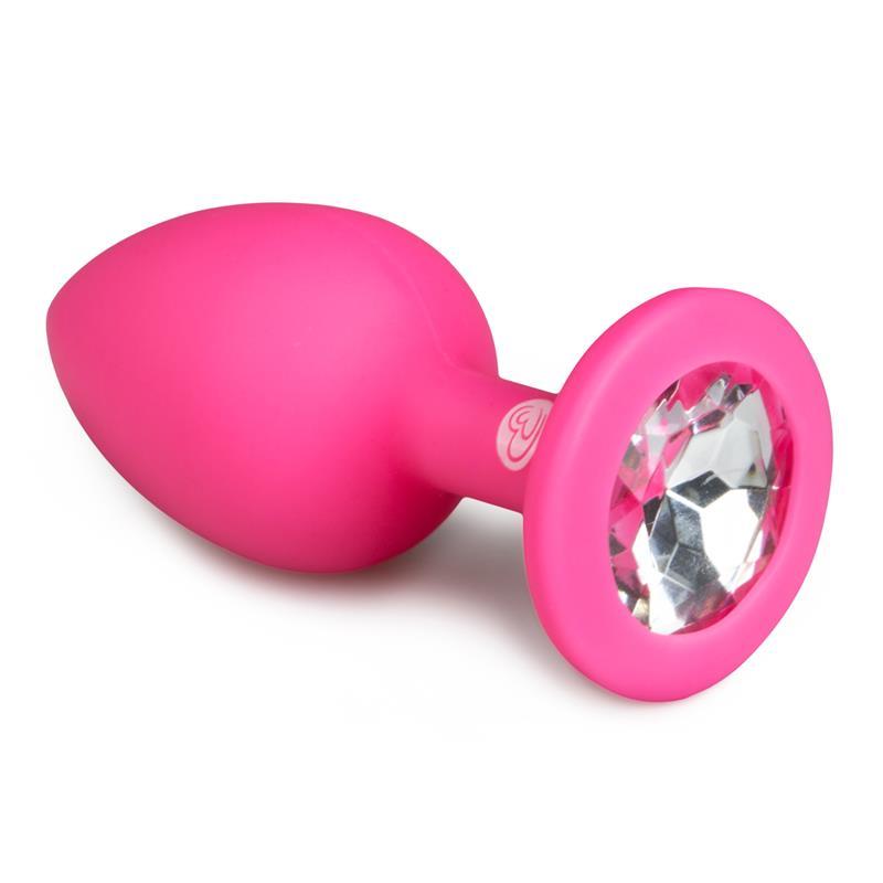 Butt Plug eith Diamond Small Pink