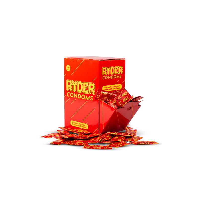 Ryder Condoms 144 Pieces
