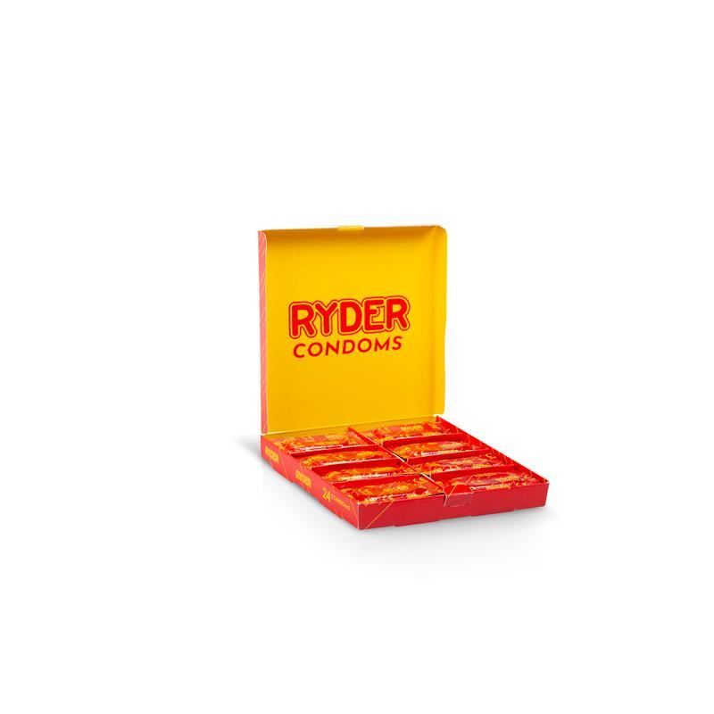 Preservativos Ryder 24 Units de RYDER #satisfactoys