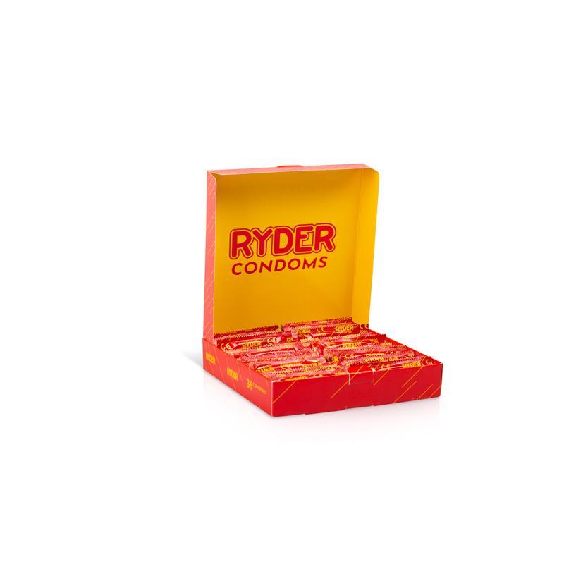 Preservativos Ryder 36 Unidades de RYDER #satisfactoys