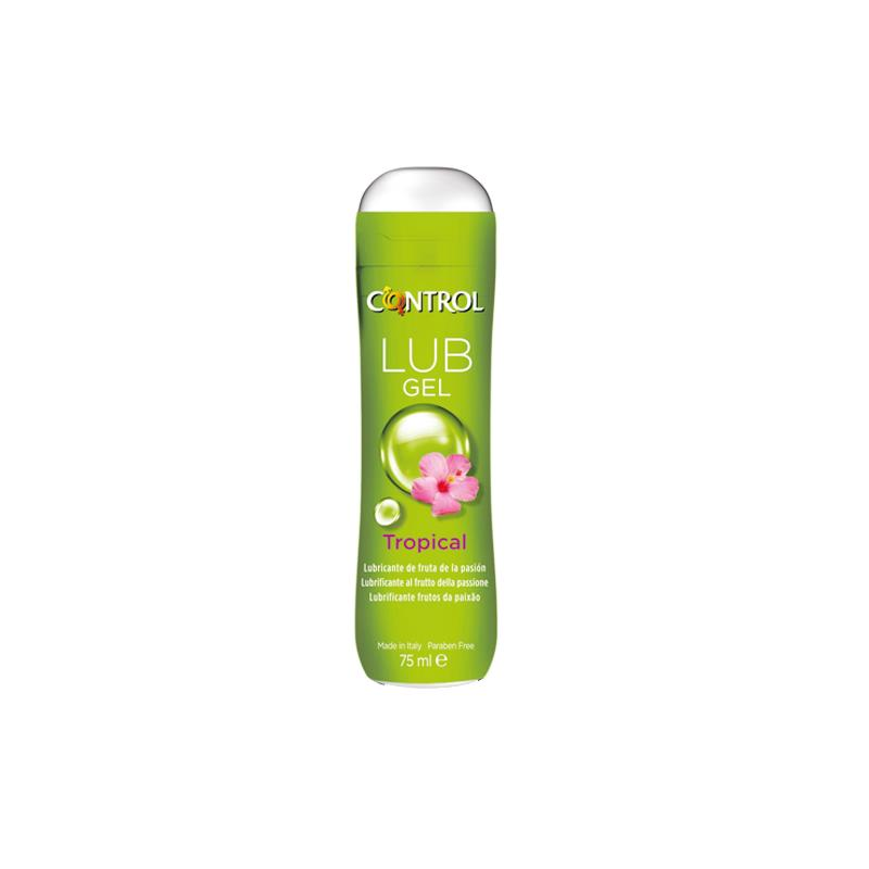 Lubricante Tropical 75 ml de CONTROL #satisfactoys