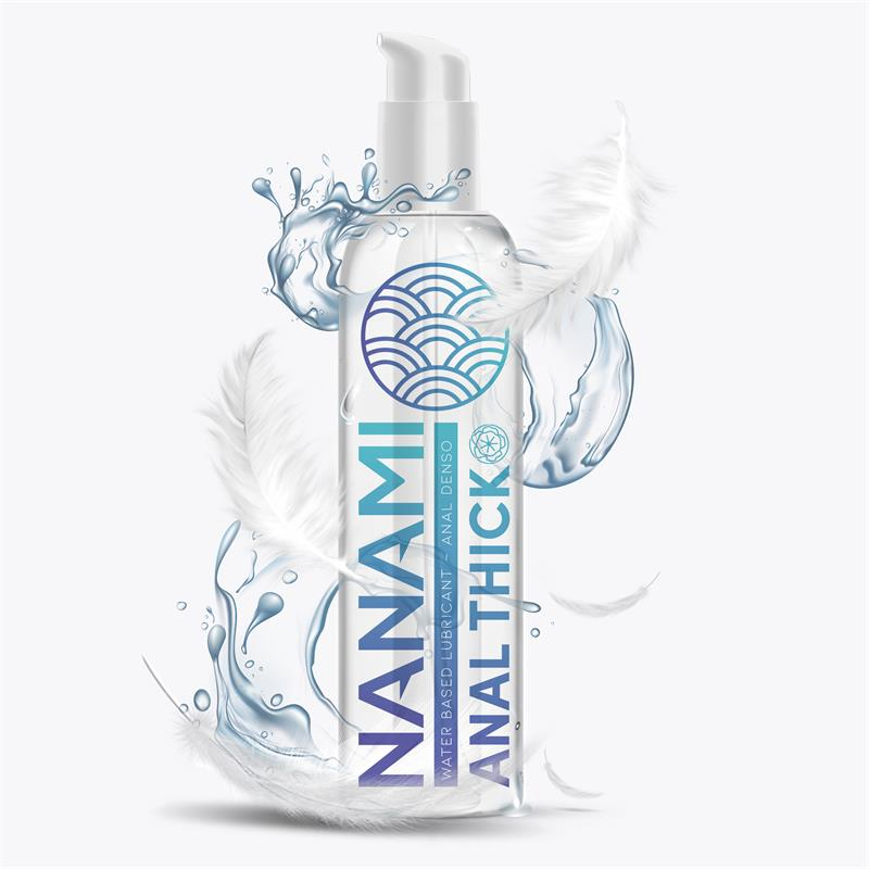 Lubricante Anal a Base de Agua Alta Densidad 150 ml de NANAMI #satisfactoys
