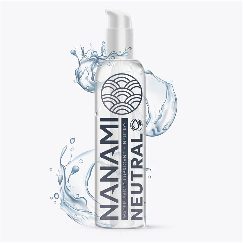 Lubricante a Base de Agua Neutro 150 ml de NANAMI #satisfactoys