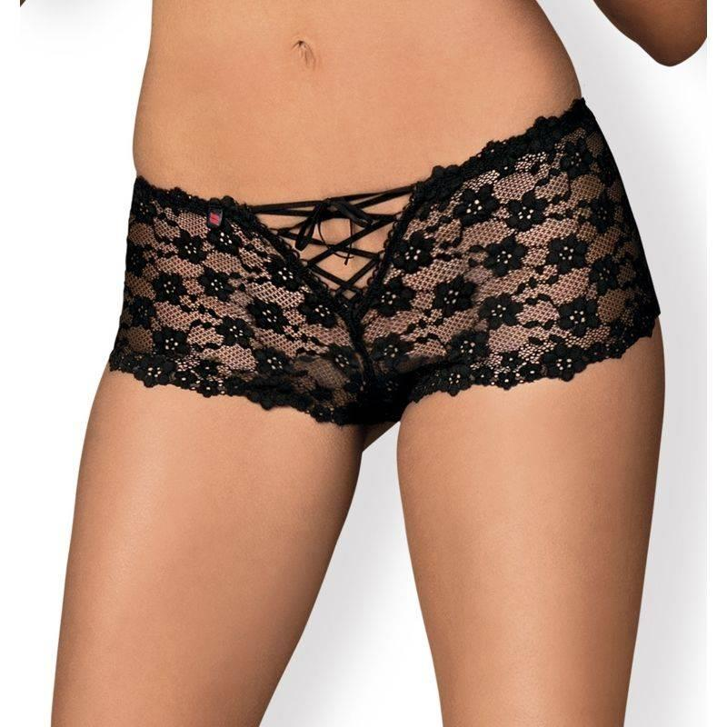 Letica Shorties Negro de OBSESSIVE #satisfactoys