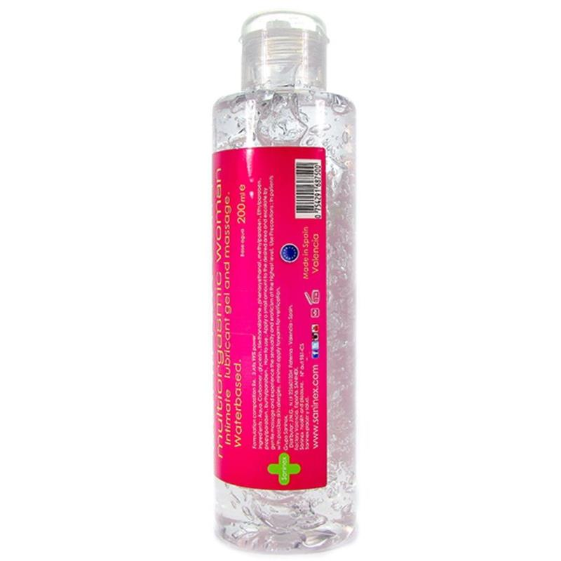 Lubricante 2 en 1 Multiorgasmic Woman 200 ml (3)