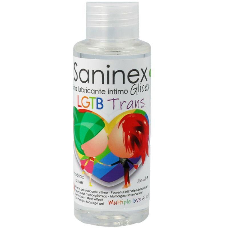 Lubricante Glicex LGTB Trans 4 en 1 100 ml de SANINEX #satisfactoys