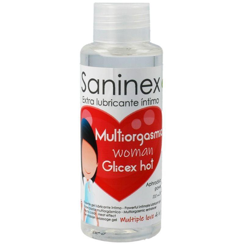 Lubricante Glicex Multiorgasmic Woman Hot 4 en 1 de SANINEX #satisfactoys
