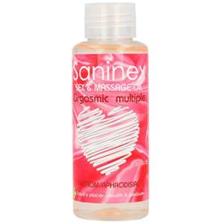 Sex & Massage Oil Orgasmic Multiple 100 ml.