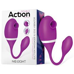 No. Eight Suction Massager & Egg Vibrator US