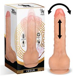 Cesur Rotating Vibrating and Thrusting Realistic D