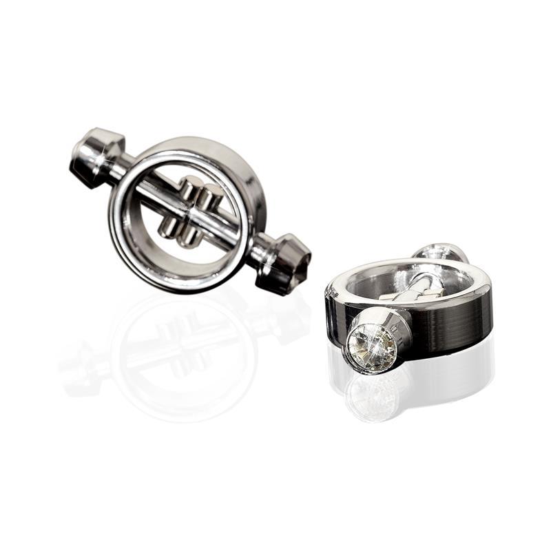 Metal Worx Abrazaderas Metálicas Magneticas para Pezones de METAL WORX #satisfactoys
