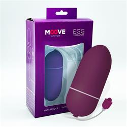 Egg Vibrator Dark Purple