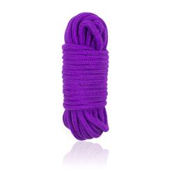 Cuerda de Bondage de Algodón 10 Metros Púrpura