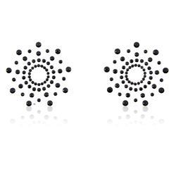 Snowflake Nippel Covers Black