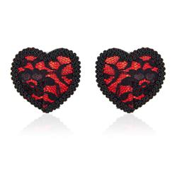 Nipple Covers Black/Red
