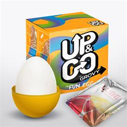 Up & Go Grovy Fun Egg Yellow