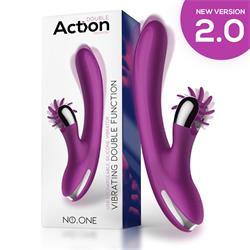 No. One Vibrator with Rotating Wheel
