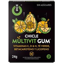 Chicle Wug Multivit Gum 10 Uds Clave 26